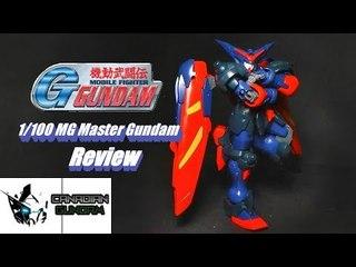 1/100 MG Master Gundam Review