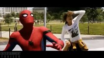 SPIDER-MAN HOMECOMING Introduction Trailer NEW (2017) Tom Holland action Movie