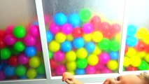 Bolas baño color con baño con bolas de colores