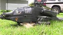 GIANT RC HUGHES 500 SCALE MODEL TURBINE HELICOPTER DEMO FLIGHT / 15. Pöting Turbinenmeetin