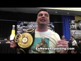 adrien broner vs paulie malignaggi pete of team malignaggi - EsNews Boxing