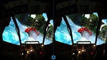 Aquadrome VR 3D SBS Google cardboard Virtual Reality Fun Doraemon rhythm game. https://www