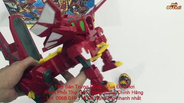 Thợ Săn Trứng Rồng - Hướng Dẫn Chơi Bộ Đồ Chơi Siêu Cấp Hiệp Sĩ Rồng Và Hỏa Chiến Long