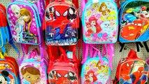$1 Dollar Tree Hello Kitty Bag Disney Frozen Crashlings Blind Bags Toy Doll Dough Monster