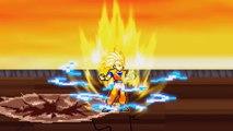 Sonic, Shadow, Goku, & Vegeta Vs Broly