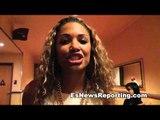 Friday Actress KD Aubert Says Floyd Mayweather KOs Robert Guerrero - EsNews Boxing