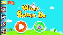 Baby Panda | Baby Learn And Have Fun With Cute Little Panda | Fun Educational Games For Ch