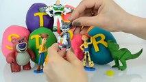 Bourdonner des œufs enfants Nouveau pâte à modeler histoire jouet jouets boisé 4 surprise disney pixar lightyear rex mov
