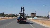 Şanlıurfa'da Cam Yüklü Kamyonette Tehlikeli Yolculuk
