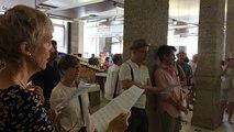 Musicales de Redon : un flashmob au marché