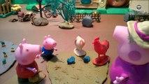 Porc enfants pour et dessin animé Peppa pig jouet Peppa, ses poulets de la famille des poulets porcs grand-mère