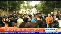 """Foro Penal Venezolano tras medida para Leopoldo López: """"Es una conquista pero sigue siendo uno de los casi 400 presos po"""