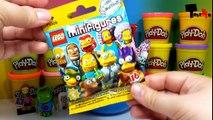 Oeuf géant jouer séries le le le le la avec Simpsons doh surprise simpsons lego minifigures 2 tuyc