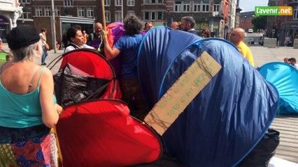 Mendicité : Arrestation musclée à Namur