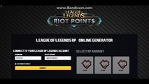 league of legends rp hack - HOW TO GET UNLIMITED RIOT POINTS in LOL[PROOF]