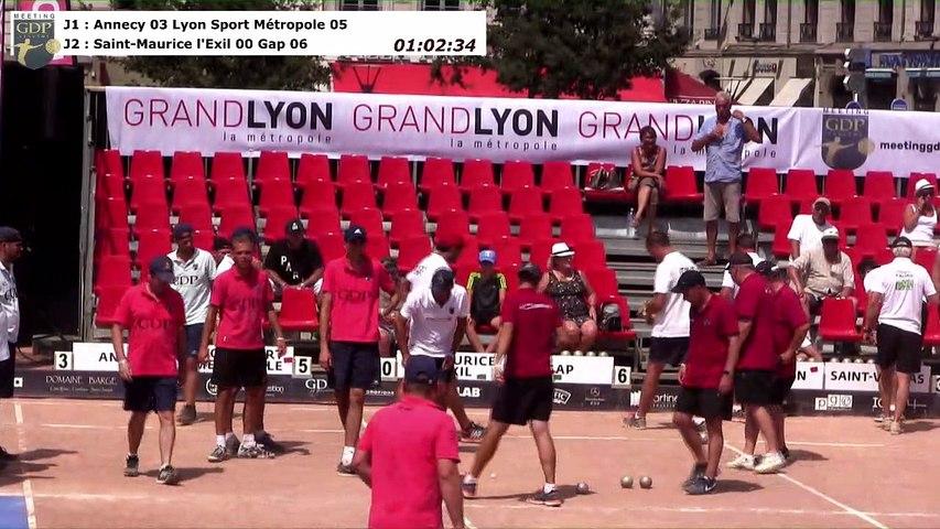 Secondes parties de poules, Meeting GDP Vendôme, la grande finale, Lyon 2017