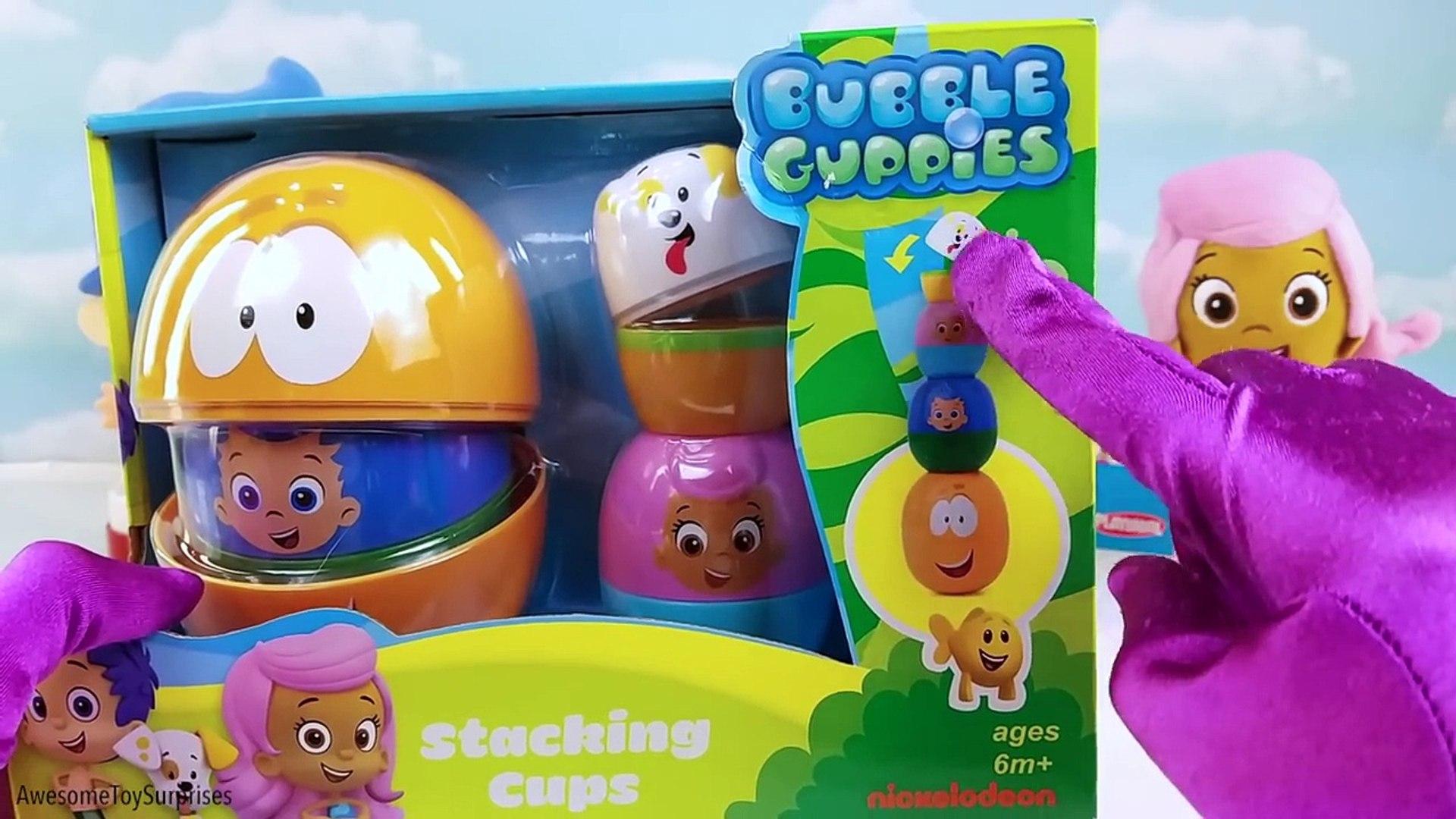 Узнайте цвета фрукты овощи лед крем пузырь гуппи штабелирования чашки игрушка сюрприз Яйца Сл