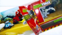 Opening Dreamworks Netflix Dinotrux Toy Playset Finger Family Game Nursery Rhymes Baby B