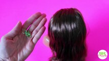 Bulle par par faire cheveux coiffure Comment queue de cheval étape à Il jouet tutoriel Barbie  
