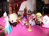 SWIPER VISITS ARENDELLE BOWSER GIDGET SKYE ANNA MASHA ROCHELLE MOANA AGNES GRU ELSA BOSS BABY MINION   Toys Kids Video D
