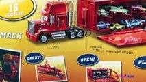 Disney Cars Mack Playcase Truck Hauler Carry Case Radiator Springs 16 Diecast 4K #Toys Unb