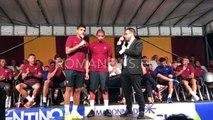 Presentazione squadra a Pinzolo: Emerson Palmieri