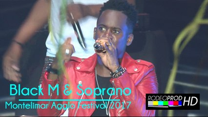 Black M & Soprano - Montélimar Agglo Festial 2017
