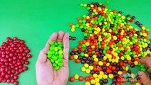 Un et un à un un à et enfants les couleurs couleurs des œufs pour Apprendre partie arc en ciel jeu de quilles à Il avec Surprise 4 lear