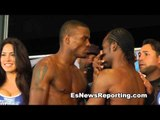 kid chocolate peter quillin and fernando guerrero faceoff at weigh in - EsNews Boxing