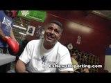 funny - maniako gets new boxing shoes robert garcia boxing academy - EsNews Boxing