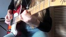 Steve Vai Tender Surrender guitar cover by Yana