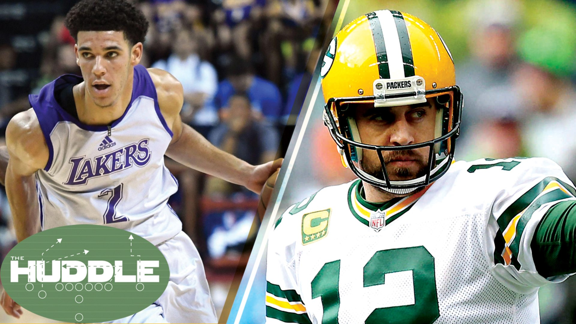 Lonzo Ball Drops a TRIPLE-DOUBLE on the Celtics, Should NFL Players Make More Than NBA? -The Huddle