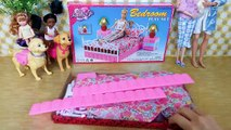 Lit chambre couchette poupée gelé Princesse elsa Rapunzel disney