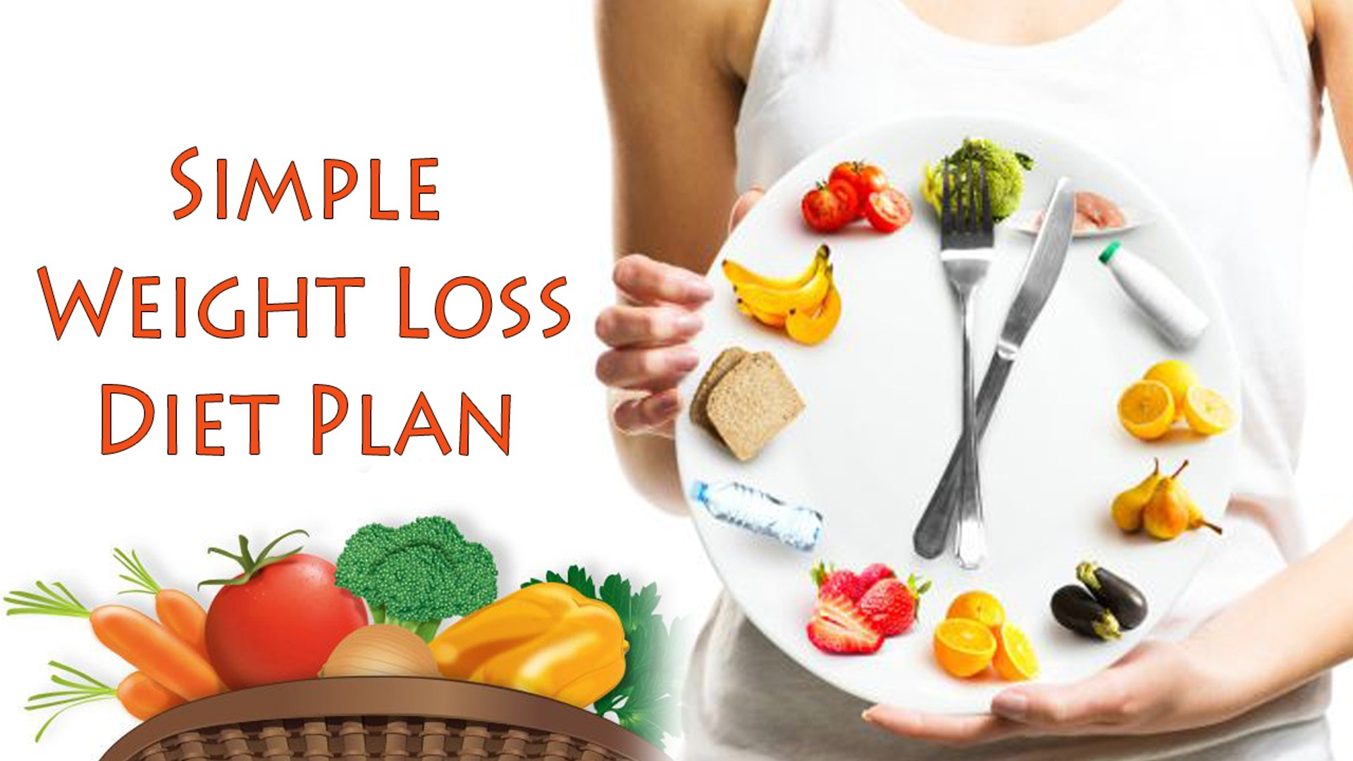 Weight Loss Diet Plan   Lose Weight With a Simple Diet