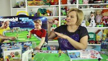 Et des sports playmobil actions portable grand stade de football