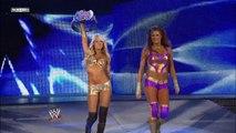 Maryse and Melina vs. Kelly Kelly and Eve Torres
