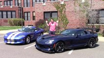 Reviews car - 2016 Dodge Viper ACR vs. 1997 Dodge Viper GTS- Comparison Test!