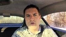 Reviews car - Driving an Aston Martin in the Snow