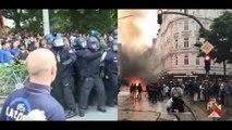 Hamburger Polizei zieht Bilanz Chaos Tage verletzte und Festnahmen