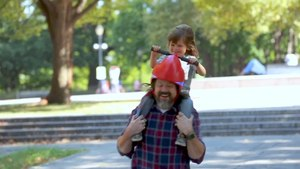 """Helmet lets kids """"drive"""" their parents because self-respect is overrated"""