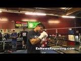 Marcos Maidana in camp for josesito lopez - EsNews Boxing