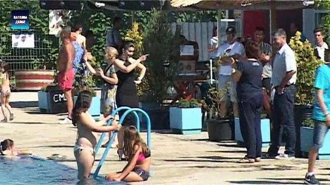 Smed.Palanka - Zikina sarenica na bazenu Terme Kiseljak 8.7.2017