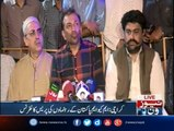 Karachi: PS-114 By-election, MQMPakistan leaders Farooq Sattar press conference
