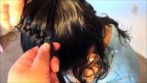 Hélas tresser faire cheveux ailes Le joli papillon de tresser papillon