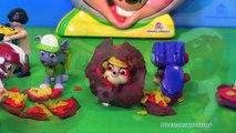 Banane fromage concours en train de manger parodie patrouille patte jouets la télé vidéo nickelodeon chuckee pizza