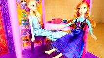 Et Château Cendrillon maison de poupées poupées gelé Princesse avec Barbie disney magiclip elsa bel