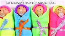 Bébé lit de bébé bricolage poupée sucette Miniature |