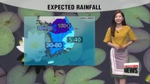 More on and off monsoon rain