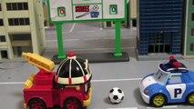 Voiture voiture jouer Ensemble jouets auto Robocar Robo voiture jouet poli poly-poly