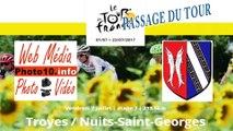Passage du Tour de France à Bar-sur-Seine